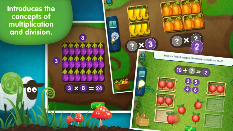 Lumio Farm Factor: Multiply and Divide Basics (Full Version)