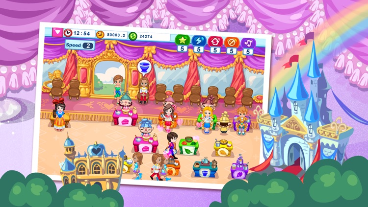 Snow White Cafe screenshot-2