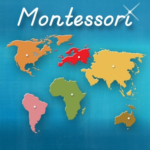 I continenti del mondo - Approccio Montessori alla Geografia