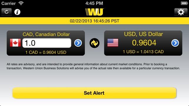 Fx Alert 4 Western Union Business Solutions