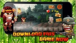 栄光のフェージング前線トレンチの端に侍Zとコマンドーガンナー - 無料3Dゲーム! Samurai Z and Commando Gunner on the Edge of the Fading Frontline Trenches of Glory - FREE 3D Game!のおすすめ画像3