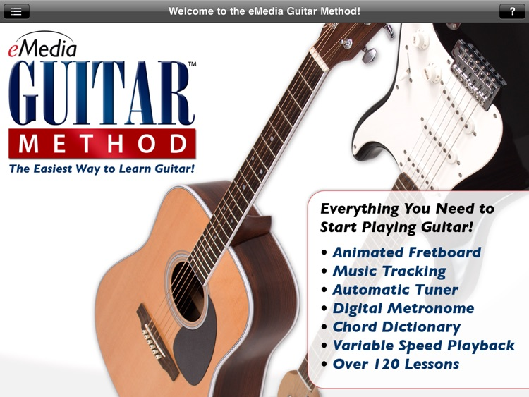 eMedia Guitar Method screenshot-0
