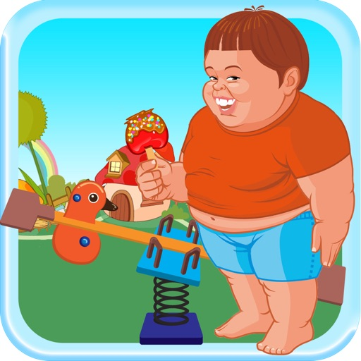 Chubby Kid See Saw Adventure - High Cookie Jumper PRO