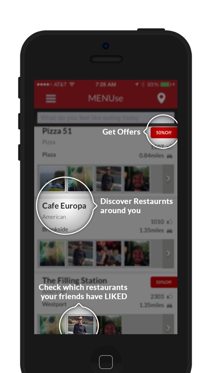MENUse - Order and Pay for Food & Drink in Restaurants and Bars