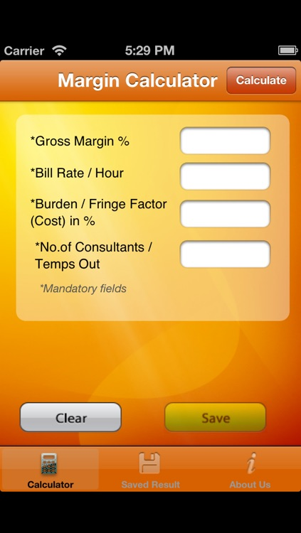 Gross Margin Calculator