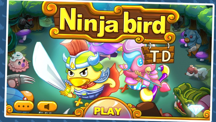 TD Ninja birds Defense screenshot-4