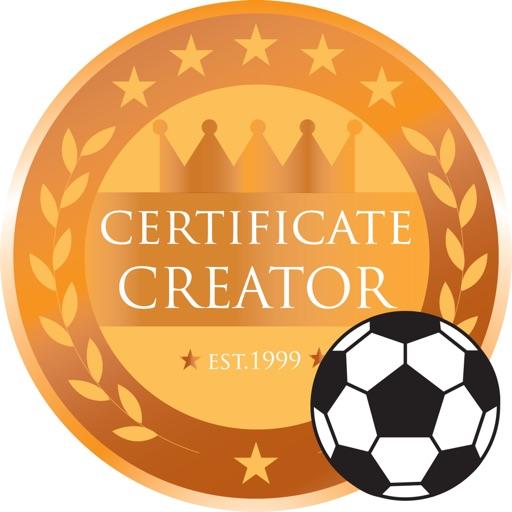 Soccer Pack 01 Certificate Creator