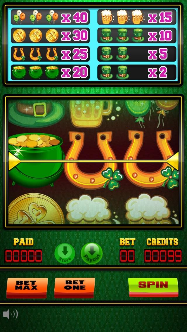 Luck of the irish slot machine