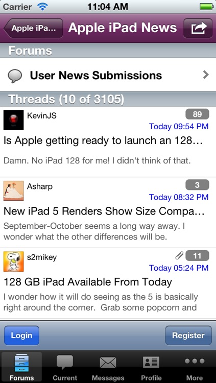 Discussion Forum for iPad Users screenshot-3