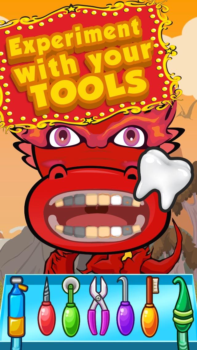 Little Nick Dragon Dentist Jr & Knight Clinic Flu Doctor of Berk Castle Story Junior Kids Games Free Screenshot