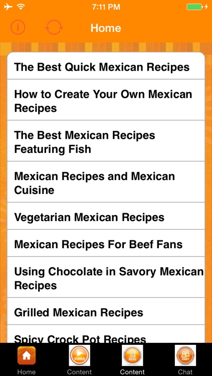 Easy Mexican Recipes screenshot-2