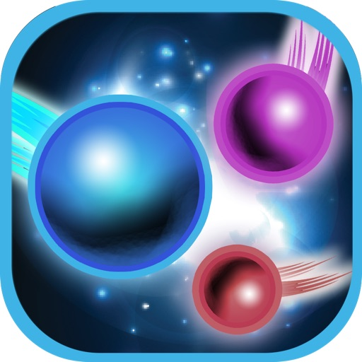 Avoid Or Destroyed - Dodge Blue Fireballs In Space To Win Game Free / Gratis