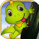 Dino Drop Jurassic Rush: Escape the Hunter War icon