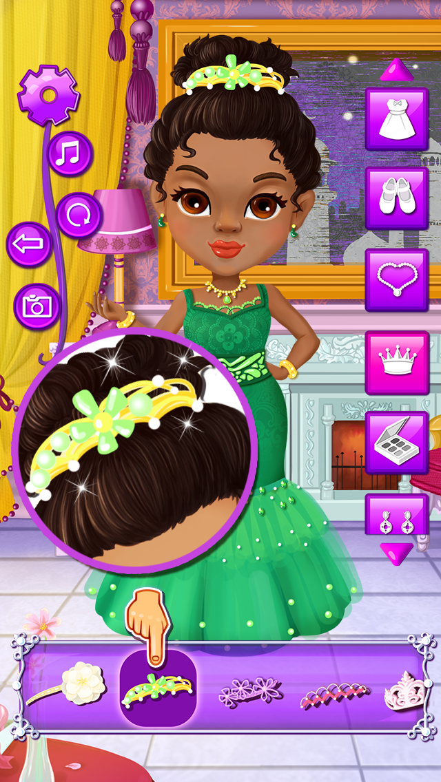 Princess Beauty Spa - salon games screenshot three