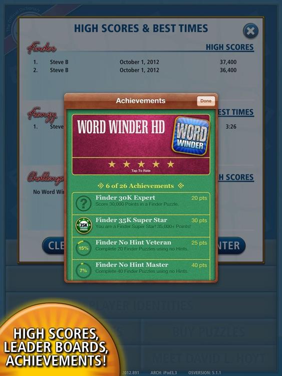 Word Winder HD screenshot-4