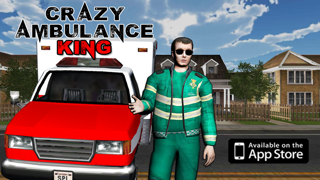 Crazy Ambulance King 3D screenshot one