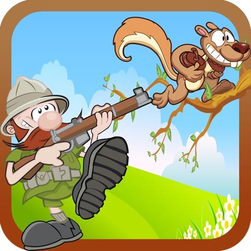 Squirrel Hunting Ranger Mania - Poop Shooting Adventure Pro