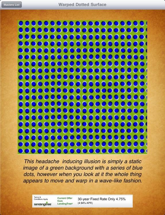 Optical Illusions! iPad Edition