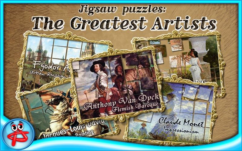 Greatest Artists Jigsaw Puzzle screenshot 1
