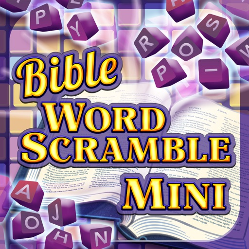 Bible Word Scramble Mini icon