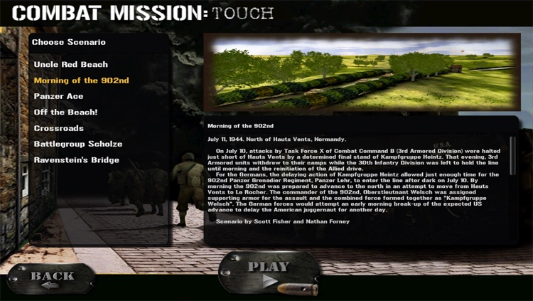 Combat Mission : Touch screenshot-3