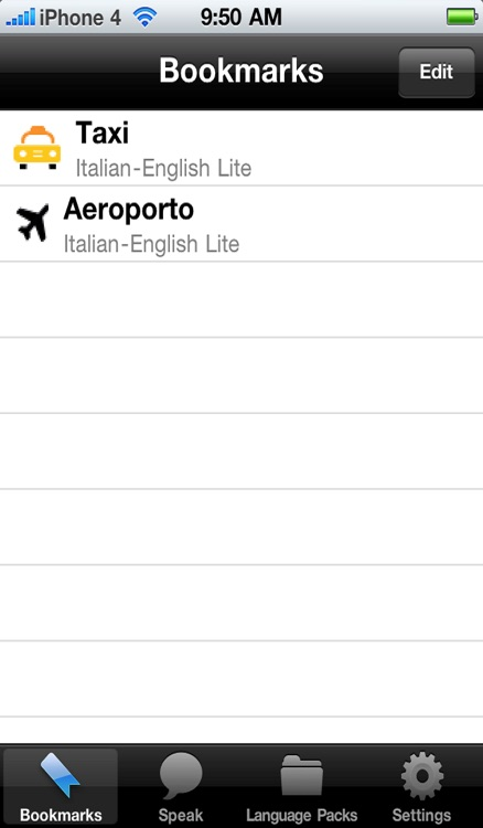 Italian to English Voice Talking Translator Phrasebook EchoMobi Travel Speak LITE screenshot-3