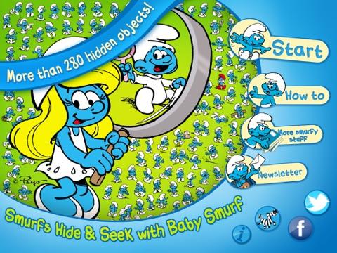 The Smurfs Hide & Seek with Baby для iPad