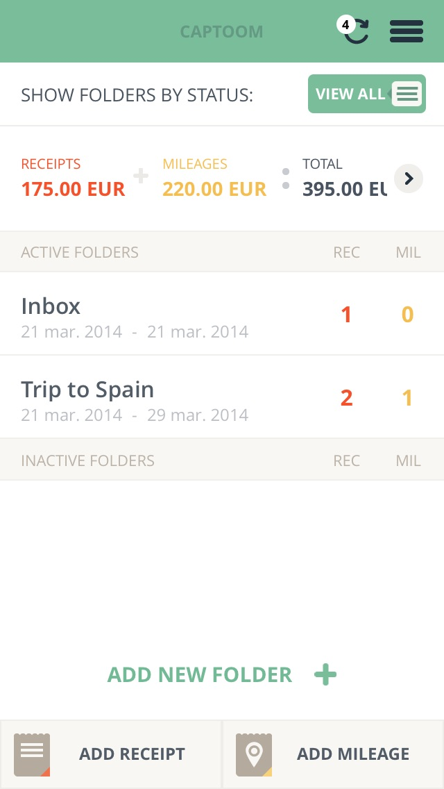 Captoom - expense manager | App Price Drops