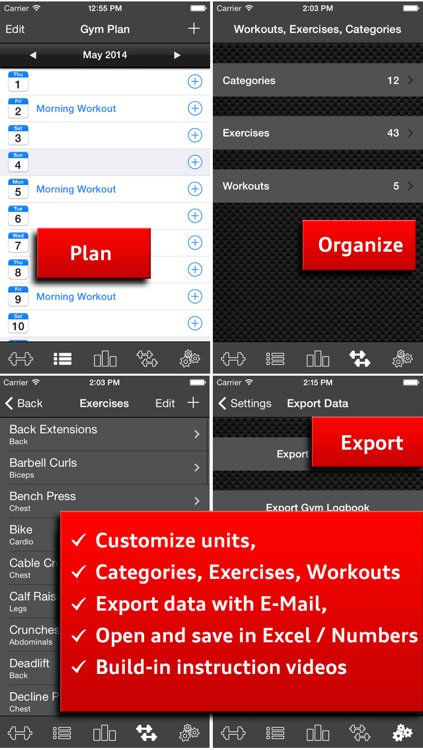 Gym Log Ultimate Free - Plan and log workouts with the best fitness tracker screenshot-4