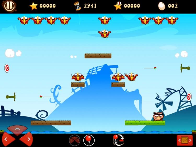 Raging Pigs HD Free screenshot-3