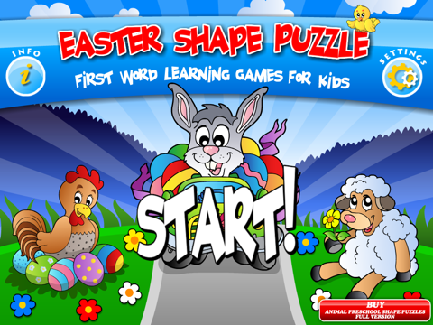 Abby - Spring Shape Puzzle For Toddler and Preschool screenshot 1