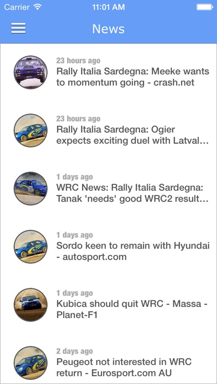 WRC Pro - WRC Rally News screenshot-1