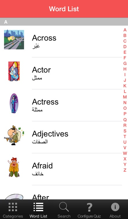 PicSpeak - English-Arabic Talking Picture Dictionary screenshot-3