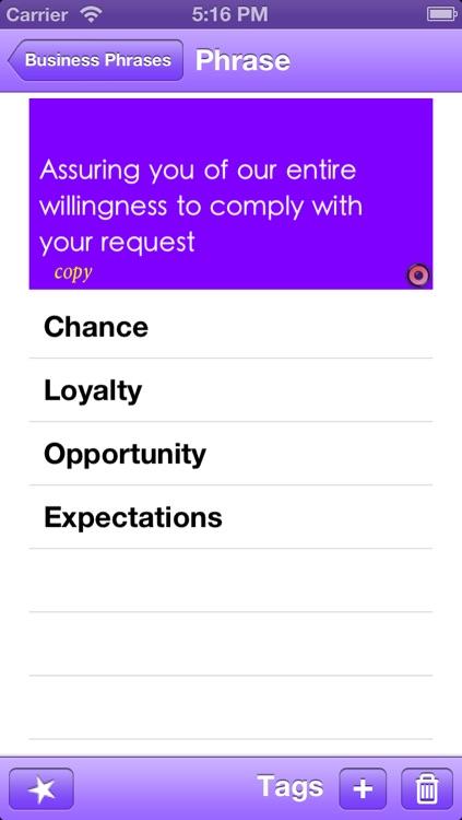 15500 Useful English Phrases Business edition screenshot-3