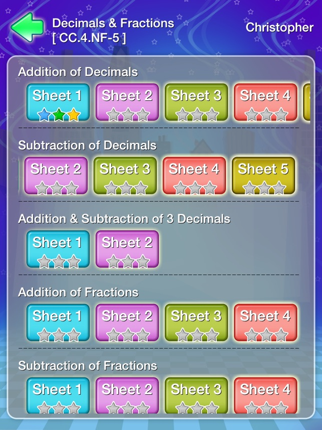 Grade 4 Math Common Core State Standards Workbook on the App Store
