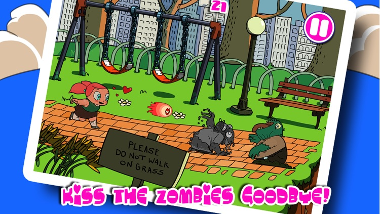 Girls Love Zombies - Kiss the Creature
