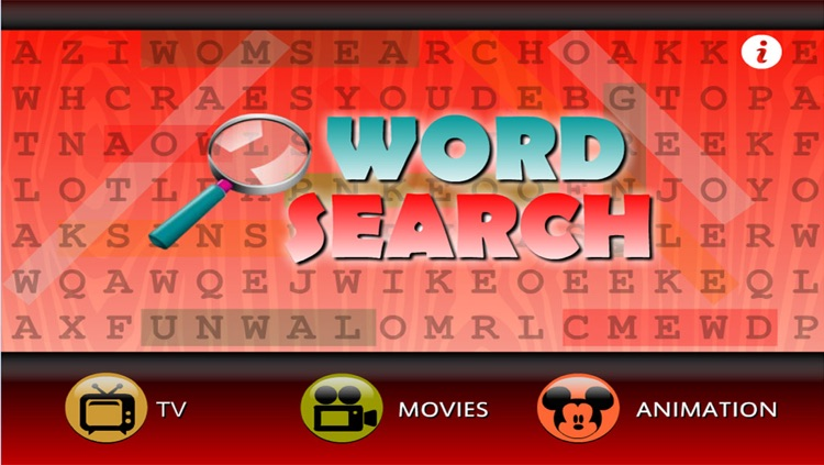 Word Search ShowTime (TV, Movie, Animation)