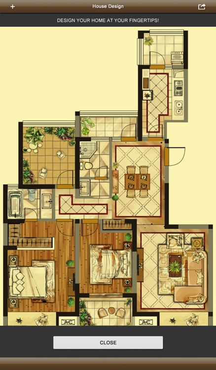 Interior Design 3D- floor plan & home calculator screenshot-3