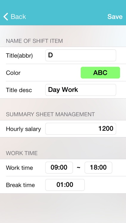 My shift - management work table and salary screenshot-4