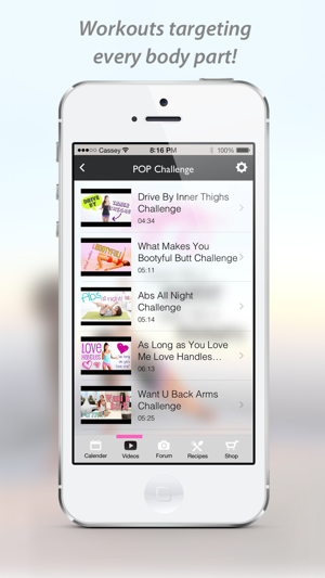 Blogilates Official App On The App Store