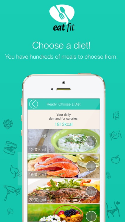 Eat Fit - Diet and Health screenshot-2