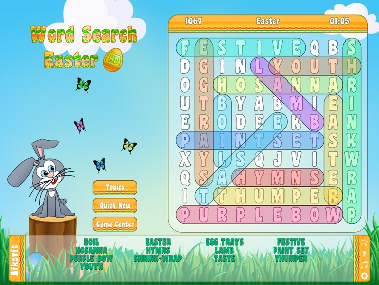 Word Search Easter HD