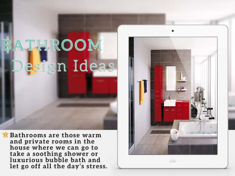 Stunning Bathroom Design Ideas for iPad