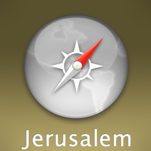 Jerusalem Travel Map