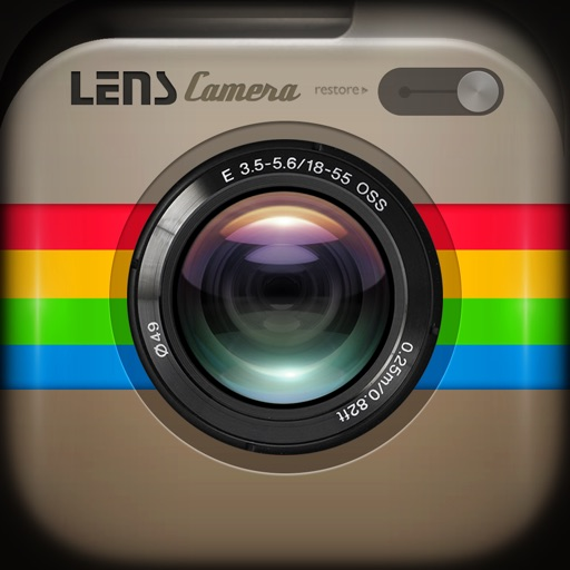 Camera Lens - Best Photo Editor To Add Amazing Digital Art + Stylish Camera Filters Effects To Create Incredible Graphic Designs