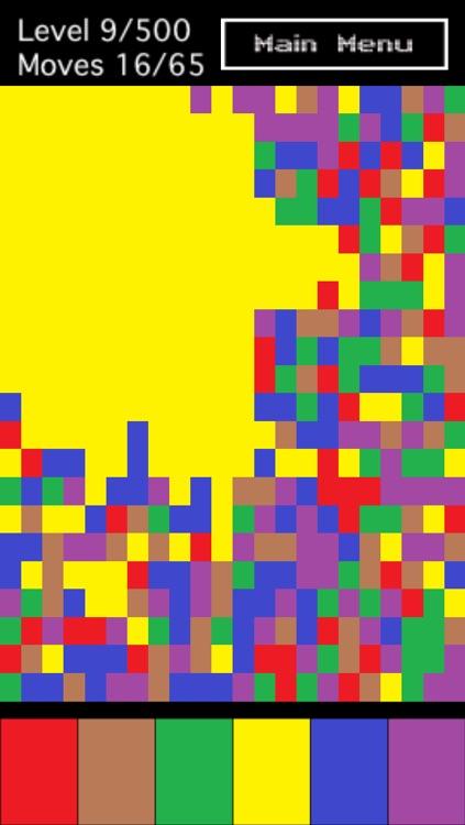Pixel Colors puzzle game