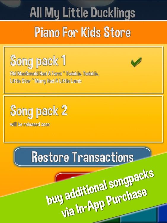 Piano For Kids screenshot-3