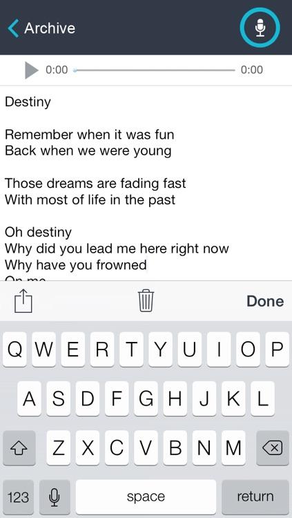 Lyric Muse - Song Writer