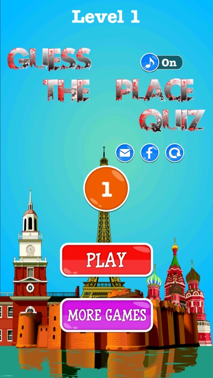 Guess The Place Quiz - Geography landmark pop game trivia explore new cities and countries