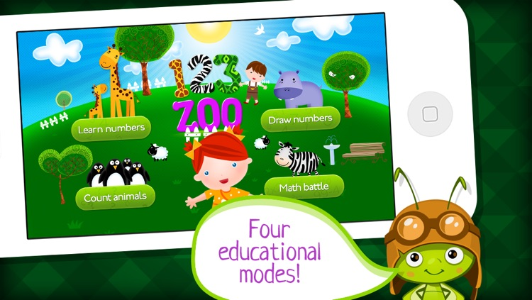 123 ZOO: Learn To Write Numbers & Count for Preschool - by A+ Kids Apps & Educational Games